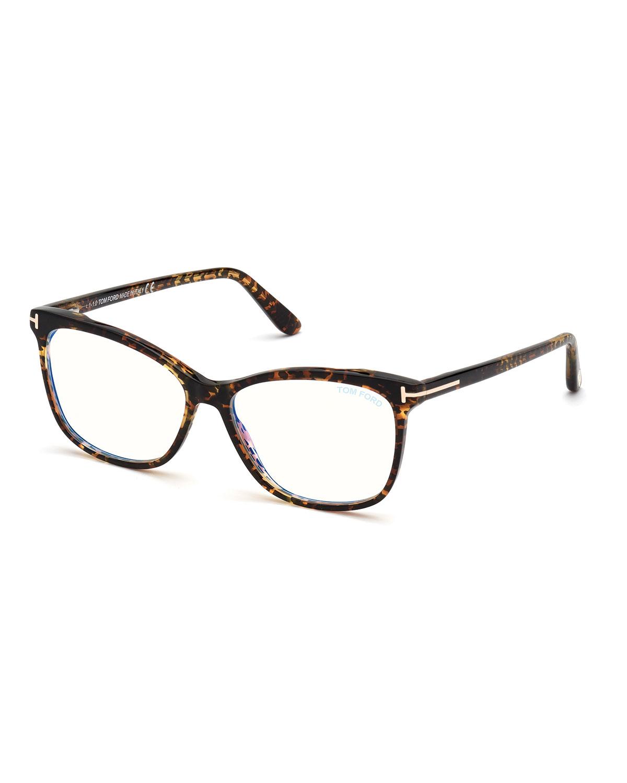 FT5690-BW550 Blue Light Blocking Square Optical Glasses