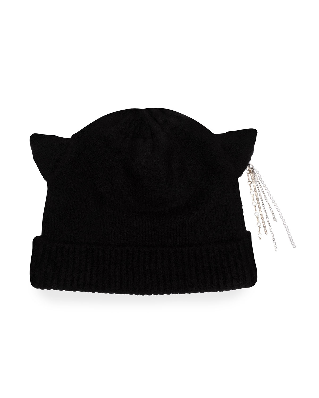 Felix Cat-Ear Wool Blend Beanie