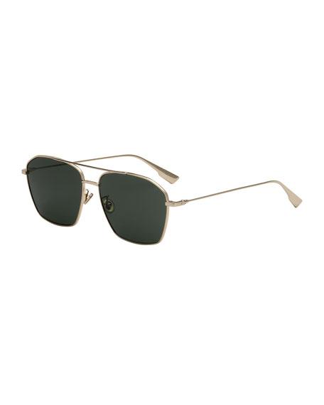 Dior Square Metal Sunglasses