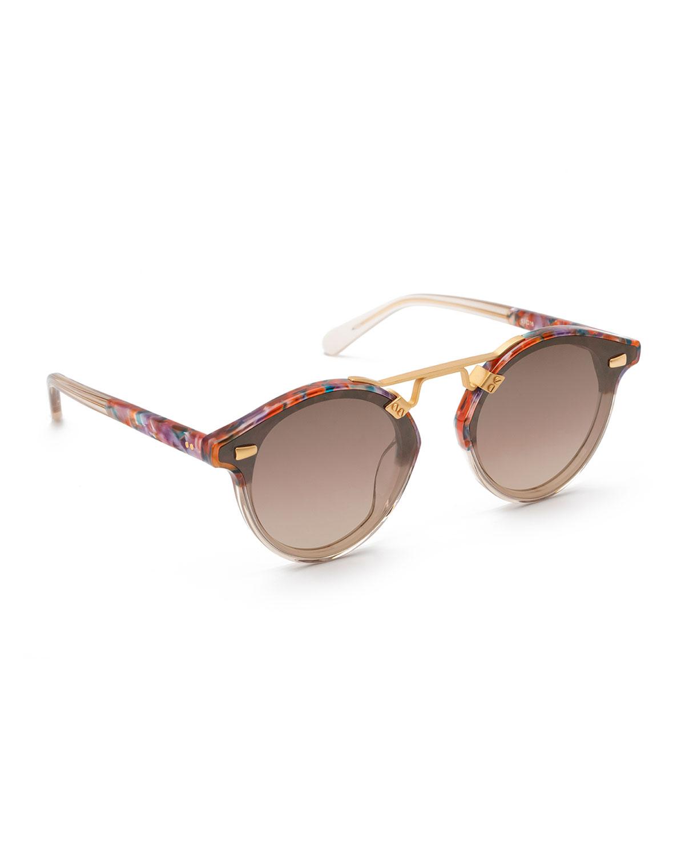 STL Round Acetate Sunglasses