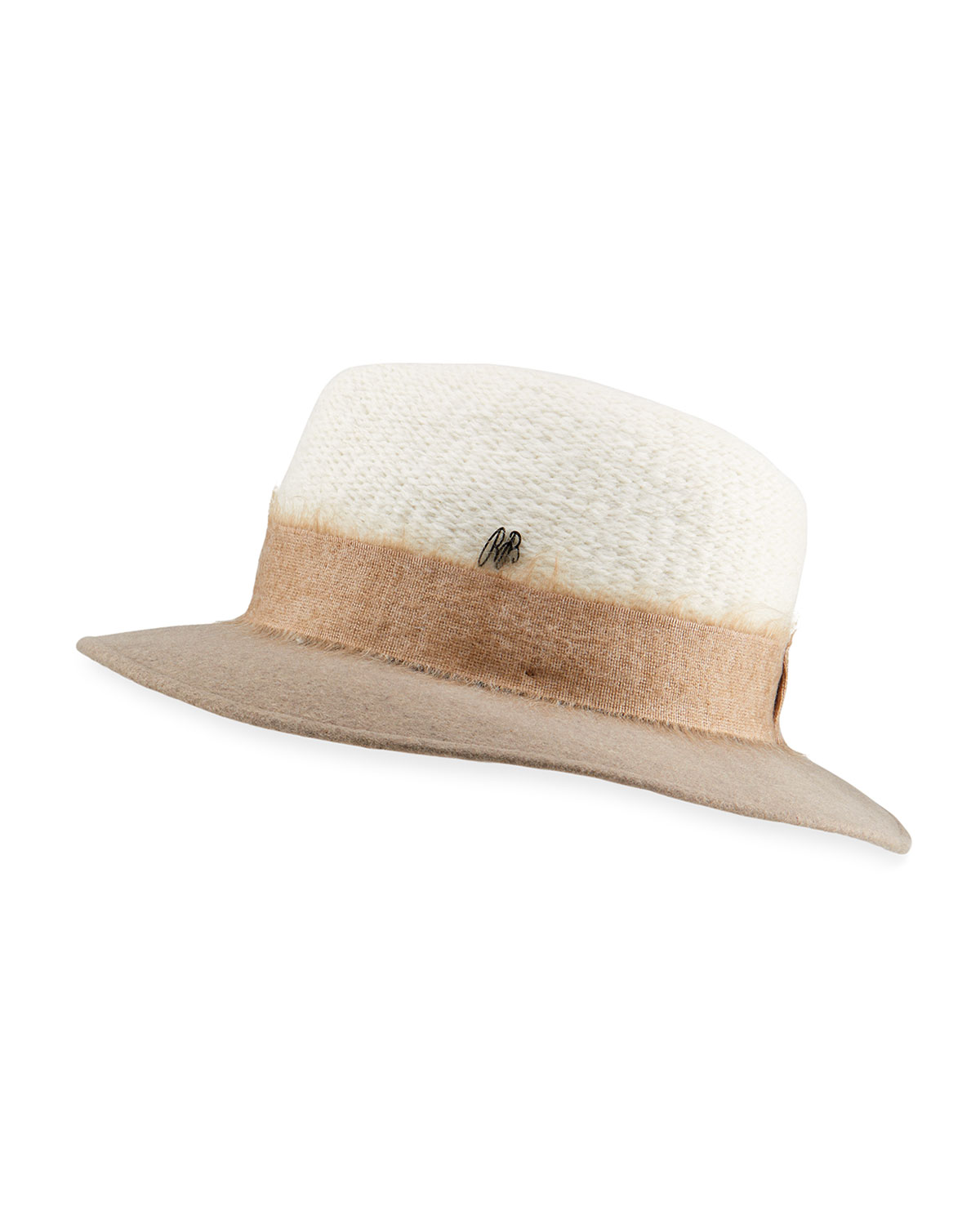 Raffaello Bettini MIXED FELT FEDORA