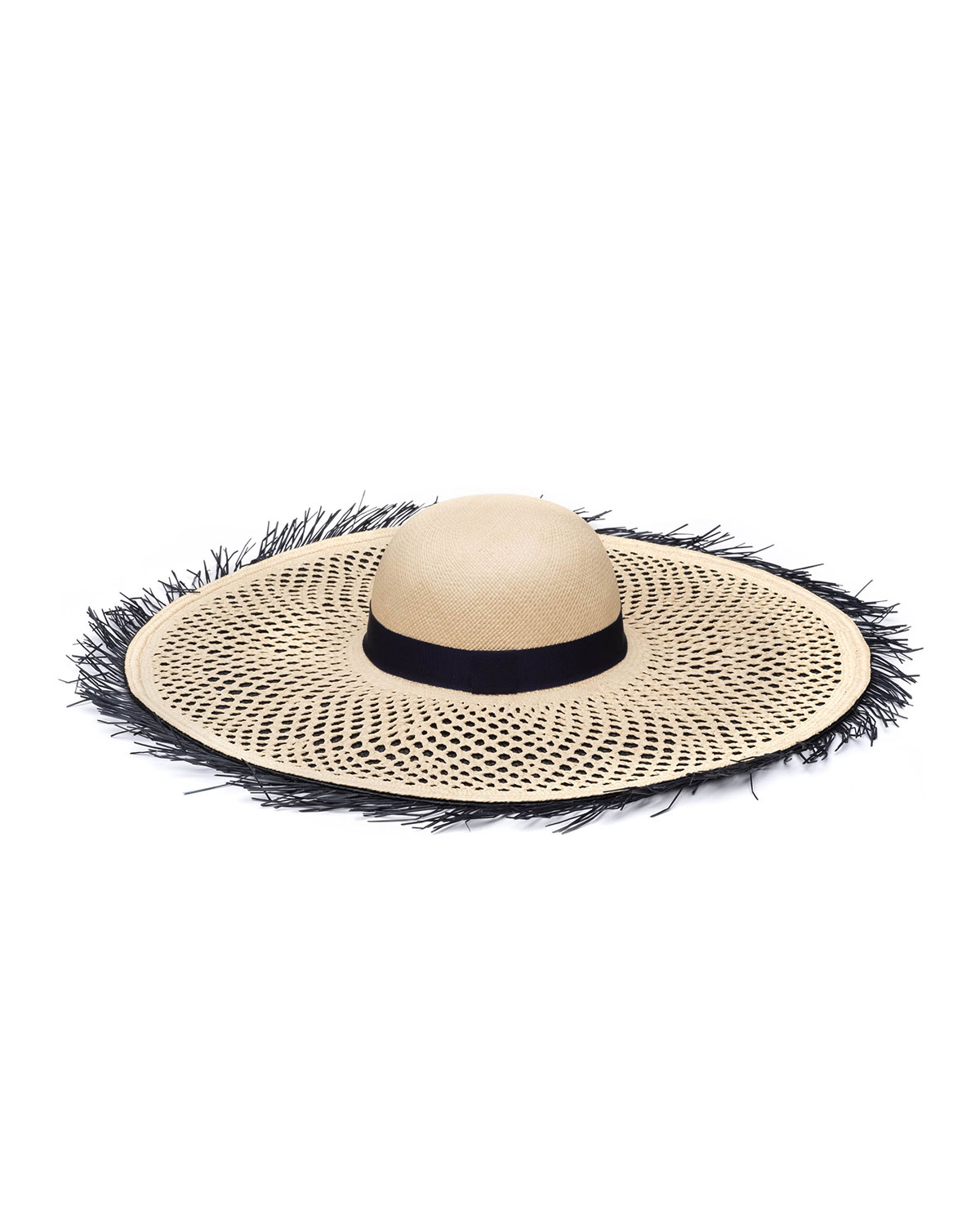 Eugenia Kim HOLLY LAYERED STRAW SUN HAT