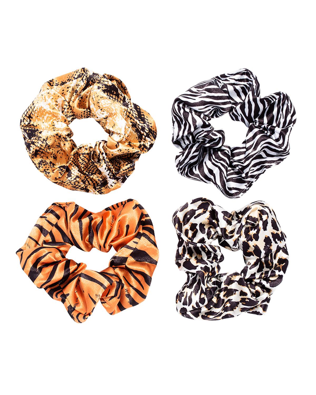 Animal-Print Scrunchies