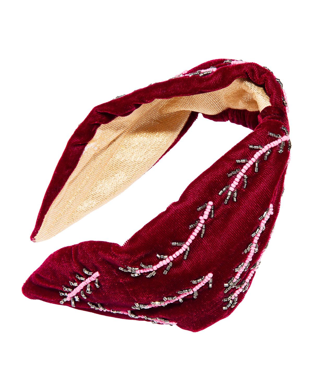 Beaded Vine Headband