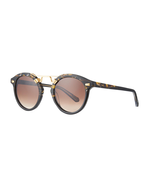 STL II Round Acetate Sunglasses