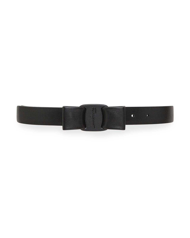 Viva Leather Belt w/ Bow