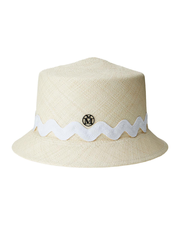 Arsene Straw Bucket Hat