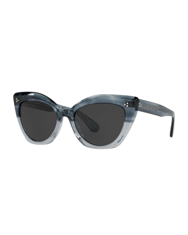 Laiya Acetate Cat-Eye Sunglasses