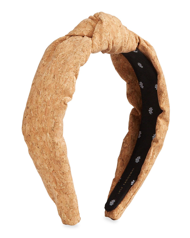 Cork Knotted Headband