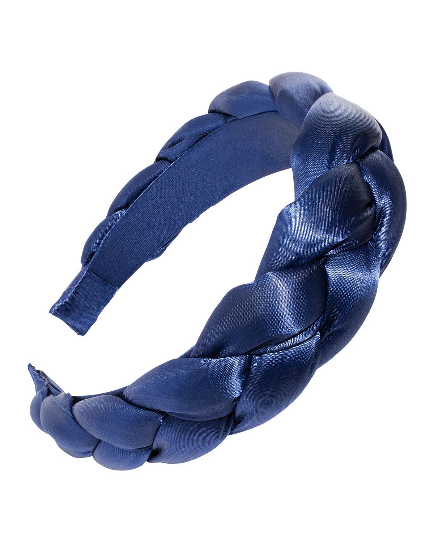 5th Ave Braided Satin Headband