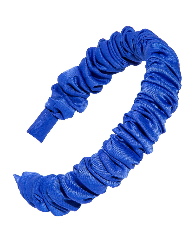 The Super Scrunch Satin Headband