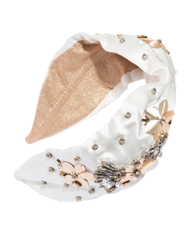 Veracruz Beaded Satin Headband