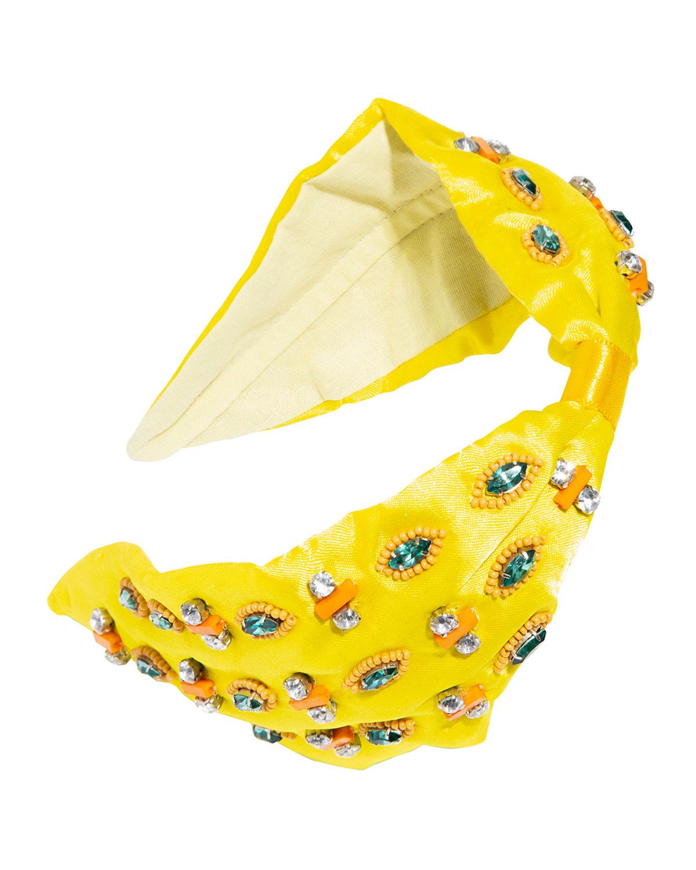 Ixtapa Beaded Satin Headband