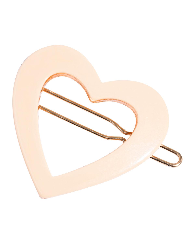 Heart Tige Boule Barrette