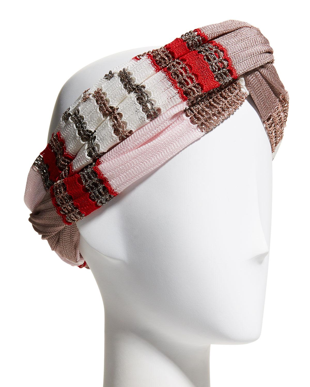 Knit Infinity Headband