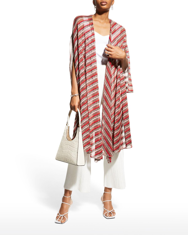 Mantella Striped Shawl