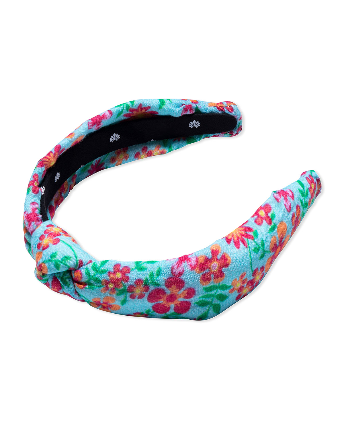 x Solid and Striped Floral Knotted Headband