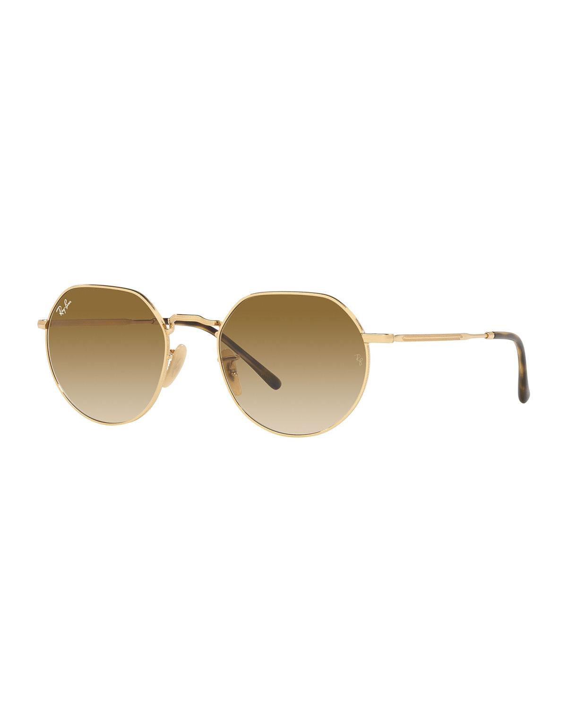 RB356553Y Round Metal Sunglasses