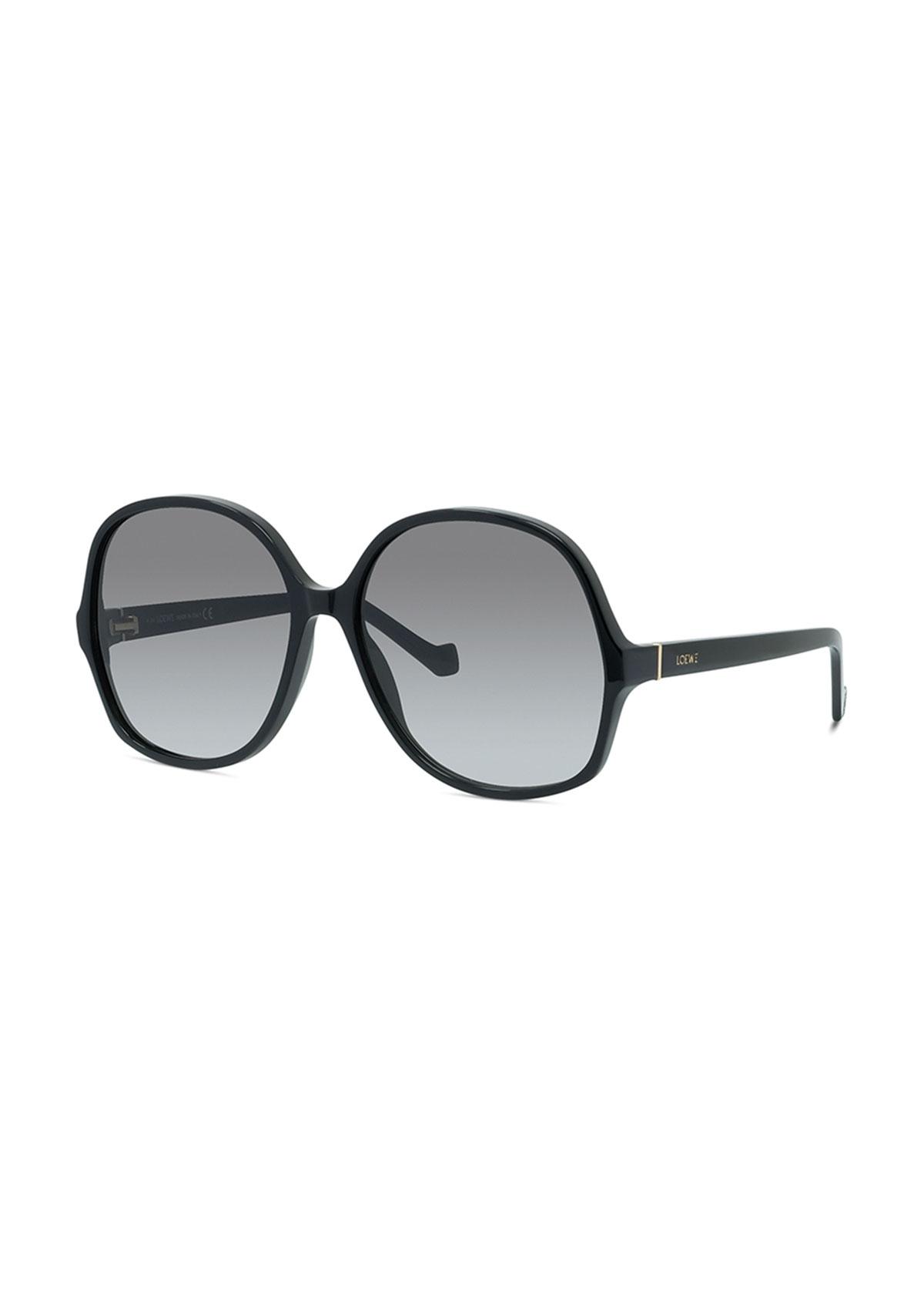 Oversized Round Gradient Sunglasses