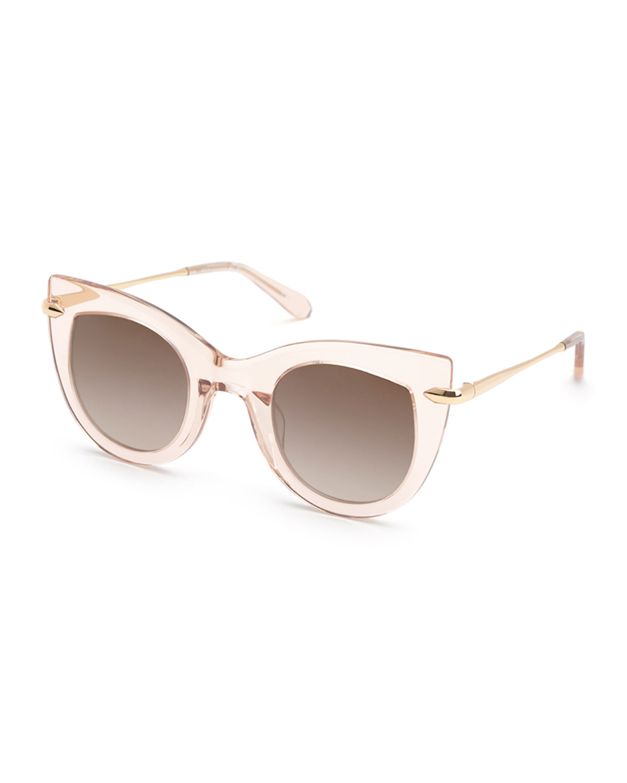 Laveau Acetate Cat-Eye Sunglasses