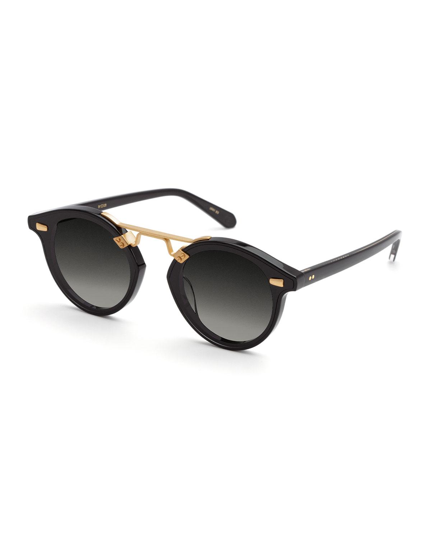 STL Nylon Round Acetate Sunglasses