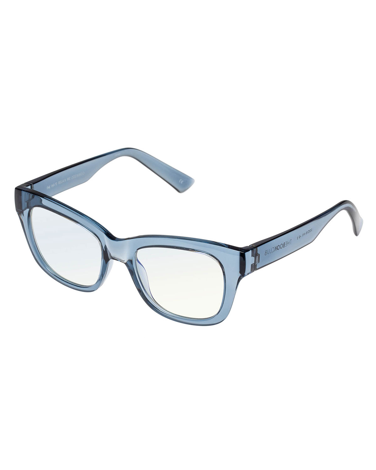 The Hate Relax Me Square Plastic Reading Glasses
