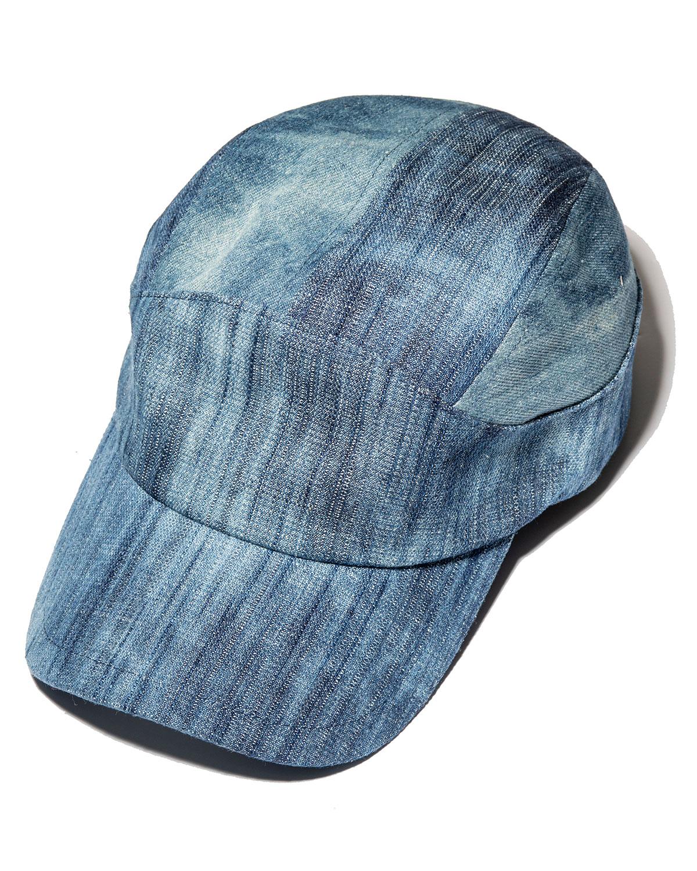 Faded Denim Baseball Hat