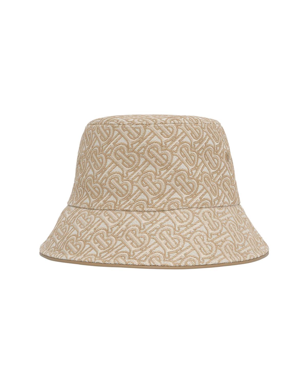 TB Monogram Embroidered Bucket Hat