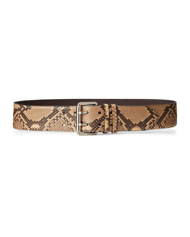 Python Double-Prong Belt