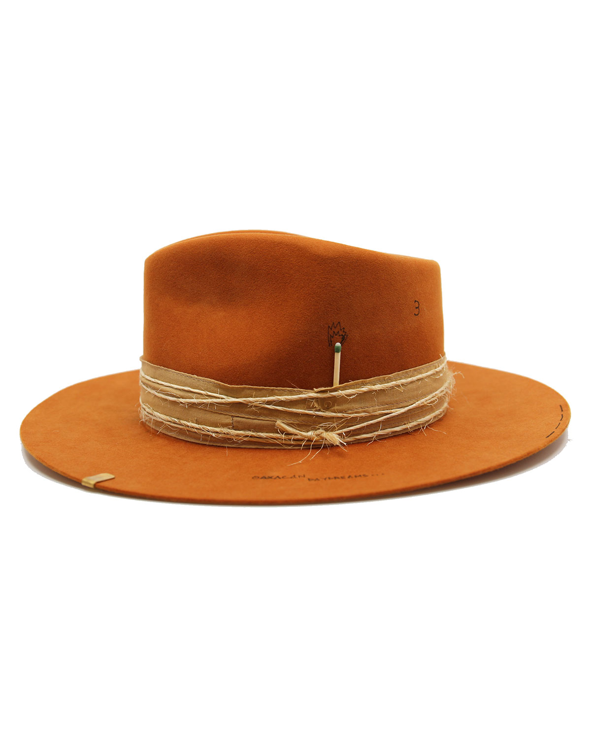 Nick Fouquet MEXICAN TATTOO BEAVER FELT FEDORA
