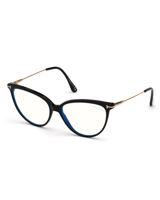 Blue Light Blocking Optical Cat-Eye Glasses