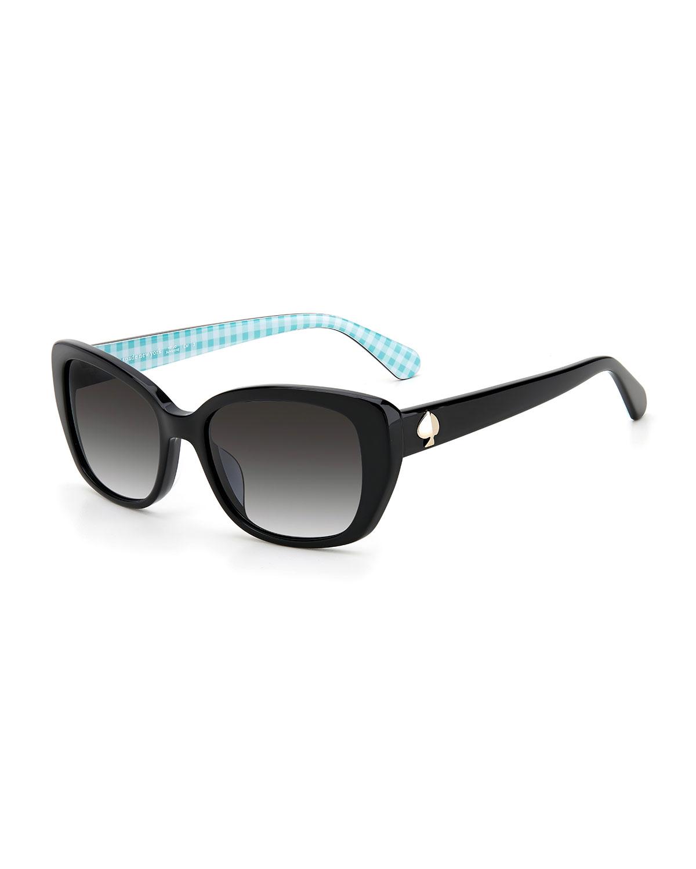 kenzie acetate butterfly sunglasses