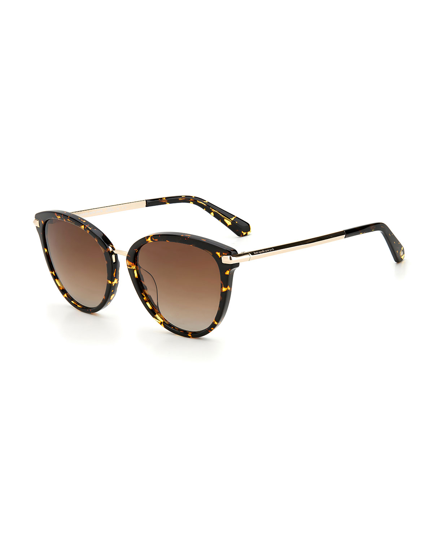 savona polarized acetate butterfly sunglasses