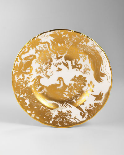 Gold Aves Bread & Butter Plate