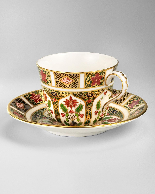 Holiday Imari Cup