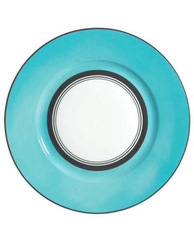 Turquoise Cristobal Dinner Plate
