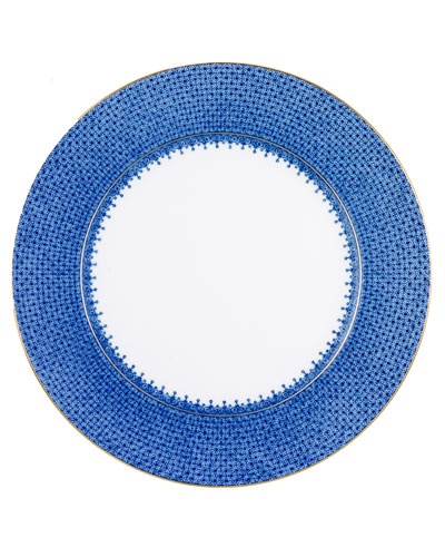 Blue Lace Charger Plate