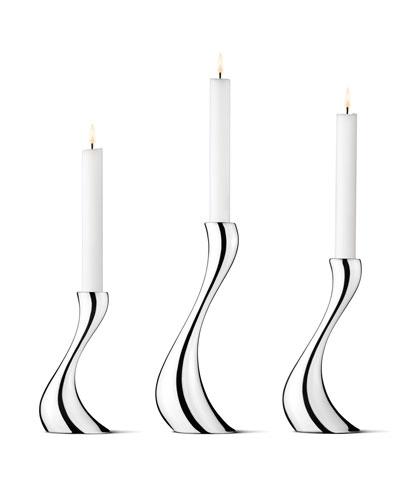 Cobra Candleholders, 3-Piece Set