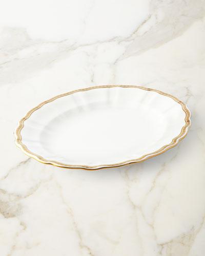 Carlton Gold Medium Platter