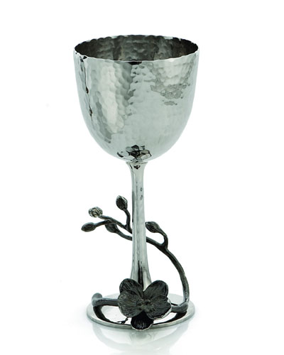 Black Orchid Kiddush Cup