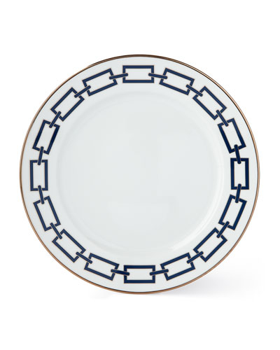 Catene Blue Dinner Plate