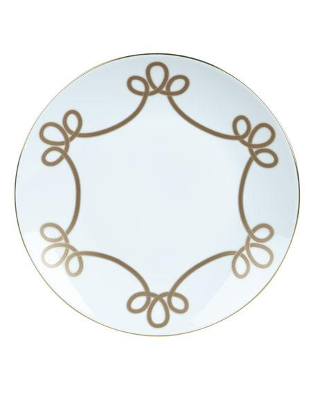 Haviland Brandenbourg Gold Dinner Plate