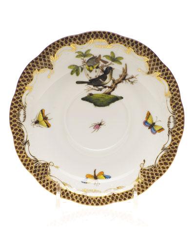 Rothschild Bird Borders Tea Saucer #1