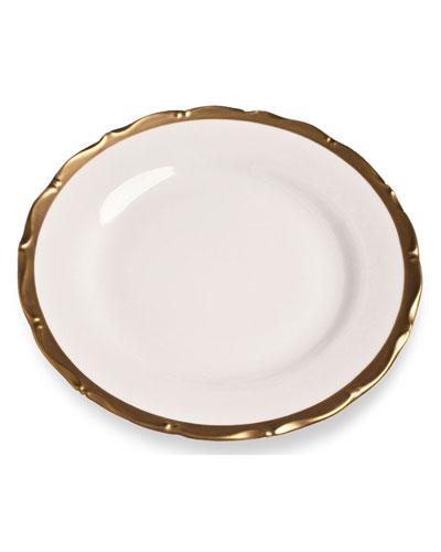 Golden Patina Dinner Plate