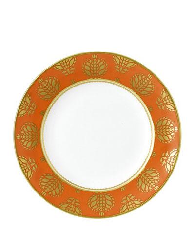 Bristol Belle Orange Border Salad Plate