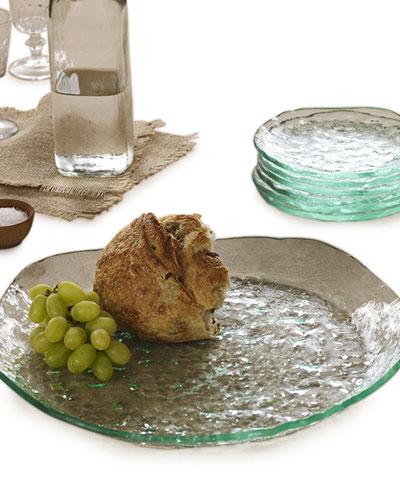 Salt Textured Round Platter