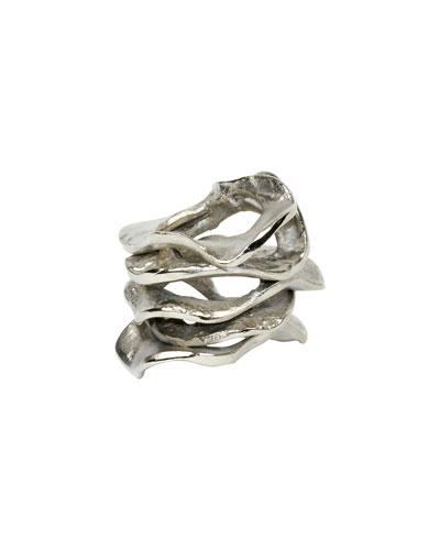 Gold Flux Napkin Ring
