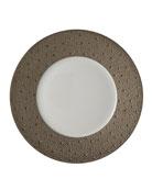 Ecume Platinum Dinner Plate