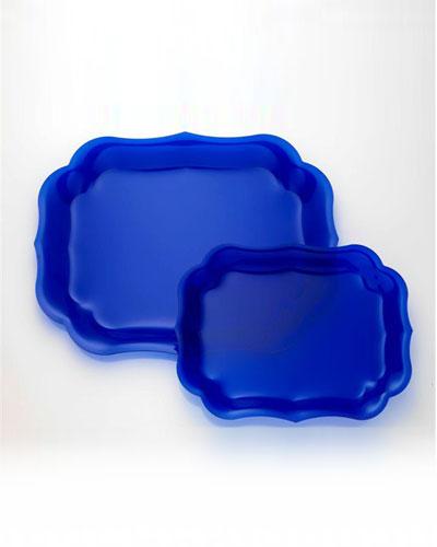 Gioconda Tray, Royal Blue