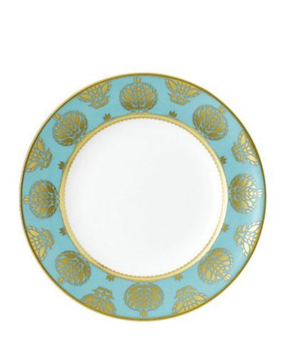 Bristol Belle Turquoise Salad Plate